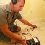 Orange County Slab Leak Detection Plumber